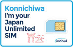 Japan Data SIM - Mobal 3GB/30 Days for 2990 Yen (~ $36 AUD) 10GB/30 Days for 5990 Yen (~ $72 AUD), Free 8 - 15 Day Shipping