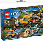 [QLD] LEGO City Jungle Air Drop Helicopter 60162 $99 @ Big W (Runaway Bay, Gold Coast)