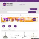 70% off Replica Designer Lighting @ Sokol Furniture