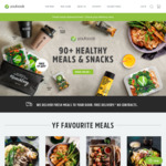 Youfoodz $15 off Your First Order (Min Spend $49)