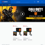 Call of Duty: Black Ops 4 Specialist Edition $49 When You Trade 2 Games (XB1, PS4, Switch)