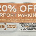 [VIC] 20% off Airport Parking @ ACE Airport Parking
