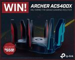 Win a TP-Link Archer AC5400X MU-MIMO Tri-Band Gaming Router worth $559 from PC Case Gear