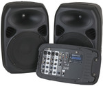 "10"" PA Speaker System with 2 Channel UHF Microphones $199 (Was $729) @ Jaycar (In-Store Only)"