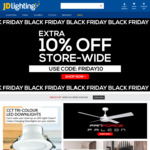 10% off Storewide Including Sale Items @ JD Lighting