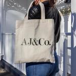 AJ&Co Canvas Tote Bags $9.99 (Was $20) + Shipping @ AJ&Co