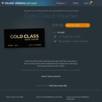 Gold Class Voucher $30 (Normally $42) @ Village Cinemas
