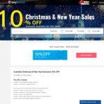 Exclusive 10% off Australia Christmas & New Year Deals @ EasyRentCars
