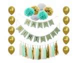 Birthday Party Decorations Set $22.99 (60% off) + Shipping (Free with Prime / $49 Spend) @ B&D Party via Amazon AU