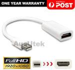 Mini Display Port DP Thunderbolt to HDMI Adapter for MacBook $0 Delivered @ Ausutek eBay