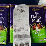 [NSW] Cadbury Dairy Milk with CC's Original - $0.10 @ Coles Miranda