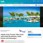 Private Villa with a Pool - 8/10 Nights at Adults-Only Beyond Resort Khaolak, Thailand $2199/$2749 @ Cudo