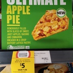 [QLD] Coles Frozen Ultimate Apple Pie 1.1kg $5 (Was $10) @ Coles (The Barracks)