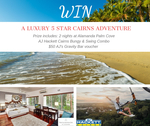 Win a Luxury Stay Package at Alamanda Palm Cove for 2 Worth $1,588 from AJ Hackett Cairns