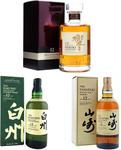 Suntory 12 Year Old Set Hibiki 700ml, Yamazaki 700ml and Hakushu 700ml $1250 Delivered @ Whisky Direct