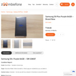 Samsung Galaxy S9 Plus Purple 64GB $720, Unlocked AU Stock, in-Store or Free Delivery with Bank Transfer Payment @ Zoombiefone