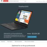 "ThinkPad E595 / 15.6"" FHD / AMD Ryzen 5 3500U / 256GB SSD / 8GB RAM / $777 Shipped @ Lenovo"