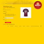 2019 Official QLD Maroons State of Origin Jersey $90 (RRP $179) + Shipping  @ XXXX