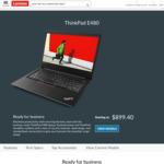 """ThinkPad E480 / 14"""" FHD / i5-8250U / 256GB SSD / 8GB RAM / $819 Shipped @ Lenovo"""