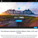 [PC, MAC] $0: ON1 Effects 2019 (Was $59.99)