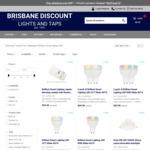 Smart Light Sale: 2pk Smart GU10 CCT $49.98, 2pk Smart RGB $53.98ea, 780lm Downlights $7.95 + Ship / Collect in QLD @ BDLT