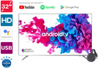"""Kogan 32"""" Android TV Smart TV Chromecast 3 Bundle $289.99 + Delivery @ Kogan"""