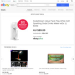 [eBay Plus] $20 Deals (Google Home Hub, Bose SoundSport Free, SodaStream) @ eBay