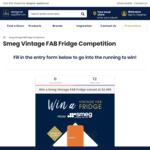 Win a Smeg FAB28 Vintage Fridge Worth $2,499 from Designer Appliances