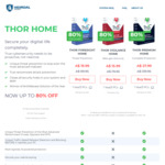 Thor Home - Security for PC & MAC, 80% Discount, 1 Year/3 PCs from AUD $15.99 @ Heimdal Security