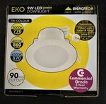 Mercator Eko 9w LED Tricolour Downlight $9.95 (was $19.99) + Delivery / QLD Store Pickup @ BDLT