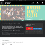 The Angry Birds Movie 2 & More: $6 + $1.50 BF @ Event Cinemas