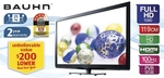 "Aldi 28 July: Bauhn 47"" Full HD LCD 100Hz $599 with PVR. 4.3"" GPS $79. HD STB Set Top Box $40"