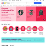 $10 off $100 - $199 | $20 off $200 - $299 | $30 off $300 - $499 | $50 off $500 - $999 | $100 off $1000+ (Eligible Items) @ eBay