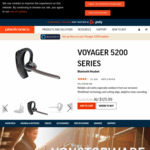 Plantronics Voyager Bluetooth Headset 5200 $125.99 Delivered (Was $179.99) @ Plantronics