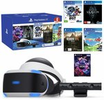 [PS4] PlayStation VR Mega Pack $304 + Shipping (RRP $469) @ The Gamesmen