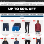 Cyber Monday Sale: 30% off Online Store, 50% off Selected Items, $7.50 Post ($0 for Subscriber or $75 Spend) @ G-Star RAW