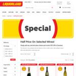 ½ Price on Selected Wines (eg. Penola Estate Cabernet Shiraz $7.50, Two Towns Barossa Shiraz 750ml $10) @ Liquorland