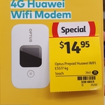 Optus 4G Wi-Fi Modem (E5577) with 4GB $14.95 @ Coles (Limited Stock)