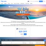 $20 Off Minimum $120 Spend on Domestic Flights to Sydney via Trip.com