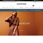 Spend $150 Save $50 @ Country Road (Free Membership Required)