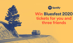 Win Bluesfest 2020 Tickets for You and Three Friends from Spotify