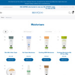 15% off Select Moisturisers + Free Shipping over $80 from Moogoo