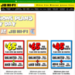 $700 Gift Card with New or Port in to Telstra $65/Month 24-Month Plan @ JB Hi-Fi