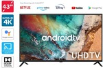 "Kogan 43"" Smart HDR 4K UHD LED TV Android TV (Series 9, XU9210) $379 + Delivery @ Kogan"