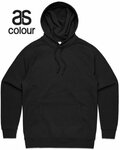 AS Colour Black Hoodie with Custom White Vinyl Printing $34.99 + Delivery @ GOOGOOBARRA