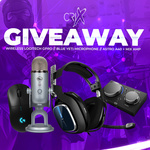 Win Headphones, a Microphone, Mix-Amp & Mouse from Crix