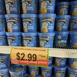 [WA] Ben & Jerry's: Caramel Cookie Fix or Cinnamon Buns 458ml $2.99 Each @ Spudshed Innaloo WA