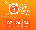 5 Hour Jetstar Friday Frenzy: Fares from $55 eg Adelaide to Brisbane @ Jetstar