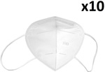 KN95 Protective Facemask 95% Filtration CE Certified Anti Dust/Droplet 4 Layer 3D Respirator - 10pk $26.95 Shipped @ PCMarket