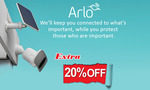 Extra 20% off Arlo Pro 3, Arlo Essential (New), Pro 3 Floodlight and Arlo Doorbells for Frontline Workers @ DeviceDeal